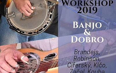 26. díl ATAmusic podcastu: Banjo Jamboree Workshop 2019 – banjo & dobro