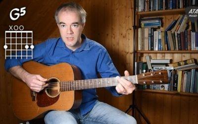 Video lekce kytarového doprovodu
