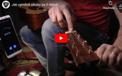 Jak vyměnit struny za 5 minut