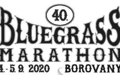 40. Bluegrass Marathon – 4.až 5.9.2020 Borovany uTachova