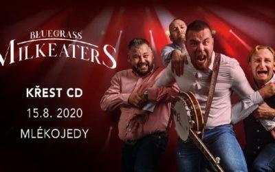 Křest CD Mlékojedi – 15.8.2020 Mlékojedy