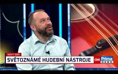 Rozhovor sRosťou Čapkem na CNN Prima News